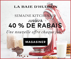 (12/12-12/18) Semaine KitchenAid - jusqu'à 40 % de rabais à labaie.com