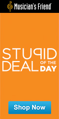 Musicians Friend Stupid Deal of the Day -- save a lot on everything you need to make music and more