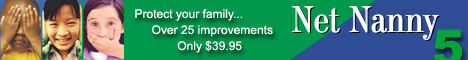 New!  Buy Net Nanny 5 for only $39.95