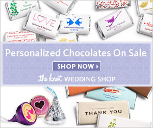 Personalized Wedding Chocolates