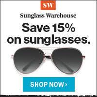 Save 15% On All Sunglasses!