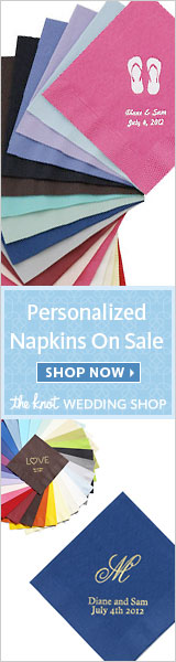Personalized Napkins On Sale