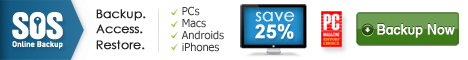 Online Backup - 5 PC's - 20% Off - 20% Off