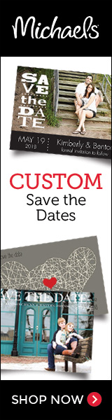 Custom Save-the-Date Cards from Michaels