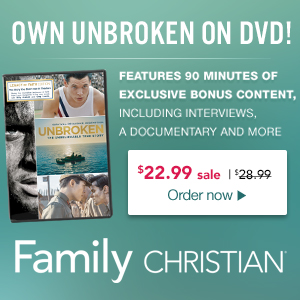 PreBuy the hit movie Unbroken - available March 24