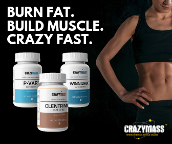 crazymass female muscle building stack
