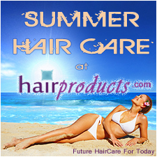 advertisement for hairproucts.com