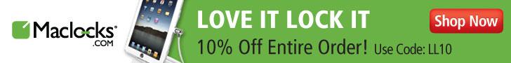 10% Off at Maclocks.com CODE:LL10