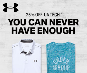 LIMITED TIME: 25% Off UA Tech + Free Shipping
