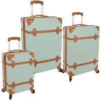 Diane von Furstenberg Saluti 3 Piece Hardside Spinner Luggage Set