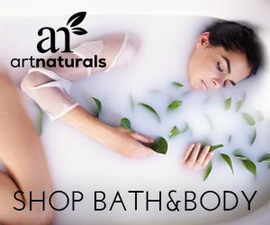 ArtNaturals® Bath & Body 300x250 Banner
