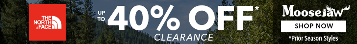 40% Off The North Face Clearance