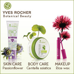 Yves Rocher Botanical Beauty- natural beauty aids