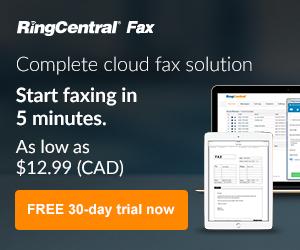 RingCentral Fax Canada
