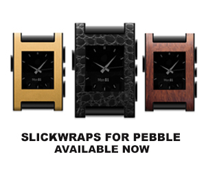 New Pebble Watch Skins From SlickWraps