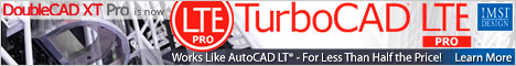 DoubleCAD XT Pro - Innovative 2D CAD that works like AutoCAD LT, at about half the price.