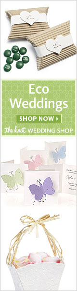 Eco-Weddings at The Knot Wedding Shop