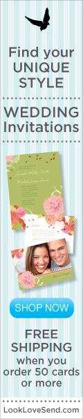 120x600 Wedding - Green Invitation