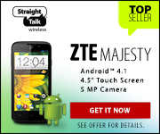 ZTE Majesty - Android 4.1 - 5MP Camera