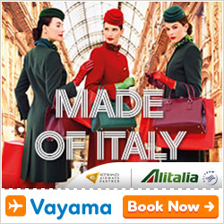 Vayama - Alitalia: Book now for unbeatable fares!