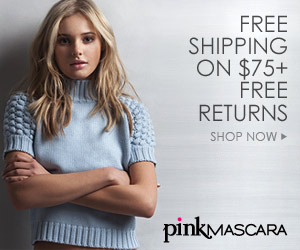 Pink Mascara Fashion Designer Sale