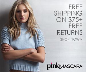 Pink Mascara Fashion Designer After Xmas Sale
