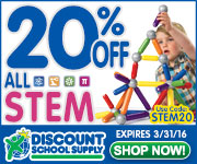 Save 20% Off All STEM & Get Free Shipping On Stock Orders Over $99!