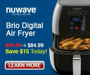 Exclusive Offer! $15 Off My Nuwave Brio!