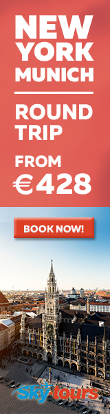 New York to Munich with Skytours from 428 EUR