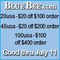 4th of July Savings at BlueBee.com