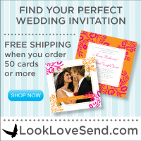 200x200 Wedding - White Invitation