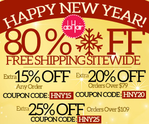 New year sale. 80% off +FS site wide. Up to extra 25% off with coupons