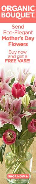 Free Vase with Select Mother's Day Bouquets