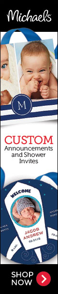 Custom Birth Announcements and Shower Invitations