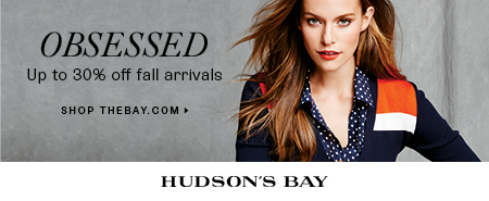 (9/5-10/12) Up to 30% off women's fall fashion at TheBay.com