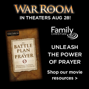 War Room, from the creators of Fireproof & Courageous - in theaters August 28.  Shop resources from