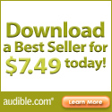 Any Audible audio book for $9.95