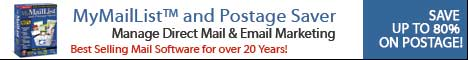 MyMail List and Postage Saver