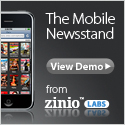 The Mobile Newsstand from Zinio Labs