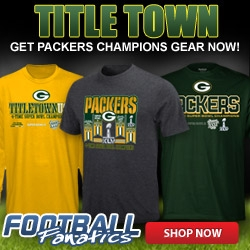 Packers Title Town Gear at Football fanatics