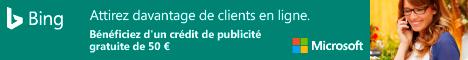 France: Recherche Publicité page d'inscription
