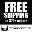 Free Shipping Over $75 at Total Hockey!