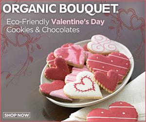 Valentines Day Eco-Treats. Chocolates, Cookies & G