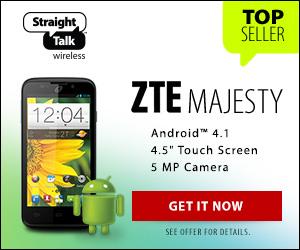 Top Seller - ZTE Majesty from Straight Talk Wireless