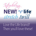 New! Stretch Twill