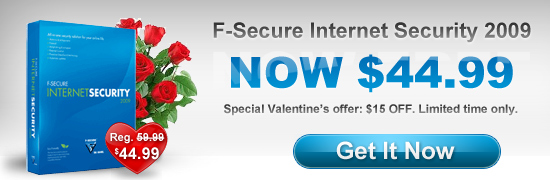 Valentine's Special: F-Secure Internet Security 20