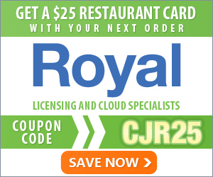 Free $25 Restaurant.com gift card w/ Software order - RoyalDiscount.com