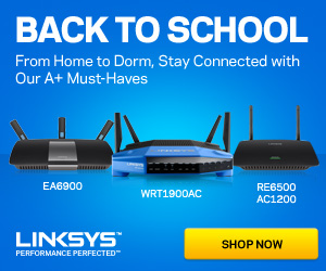 Linksys Back To School
