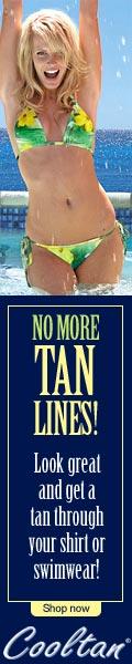 Cooltan Tan-Through Shirts & Swimsuits
