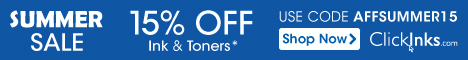 Save up to 86% off ink & Toner Cartridges